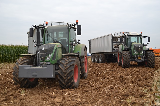 Tractor, Silage, Fendt, Agriculture