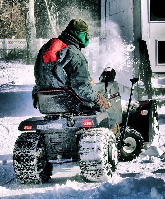 Snow, Tractor, Snow Plow, Snowy, Blizzard, Weather
