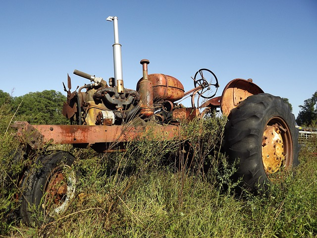 Tractor, Antique, Tractors, Vintage, Farm, Agriculture