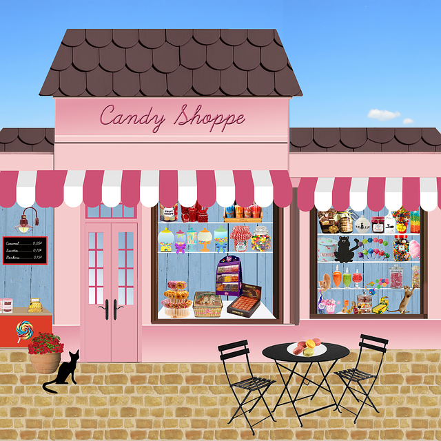 Shop, Candy, Sweets, Confectionery, Chocolate, Trade