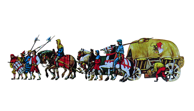 Merchant Pull, Nuremberg, Middle Ages, Trade, Png
