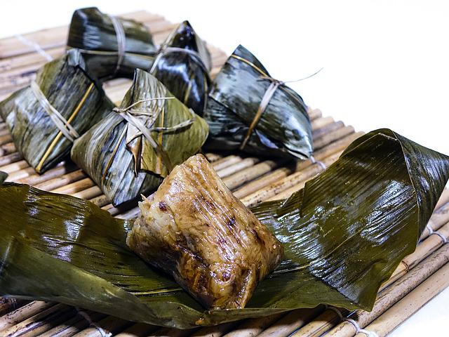 Rice Dumpling, 粽子, Glutinous Rice, Tradition, Chinese