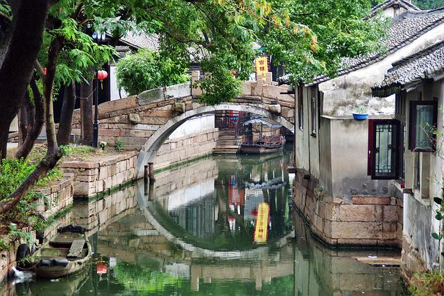 Suzhou, China, Tradition, Bridge