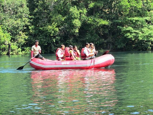 Kali River, Dandeli, India, Boat, Ship, Tradition