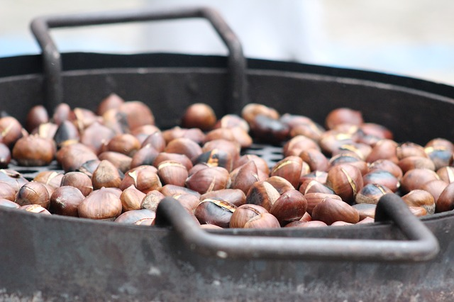 Roasted Chestnuts, Chestnuts, Feast, Tradition
