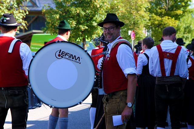 Brass Band, Music Band, Oberallgäu, Bavaria, Tradition