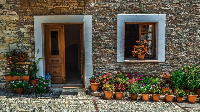 House, Facade, Architecture, Traditional, Stone
