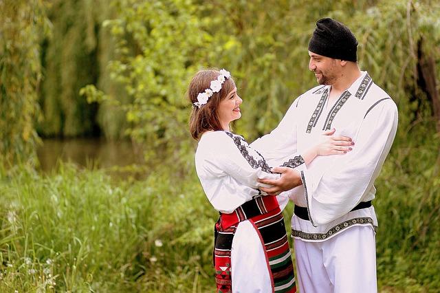 Family, Traditional Costume, Romania, Love