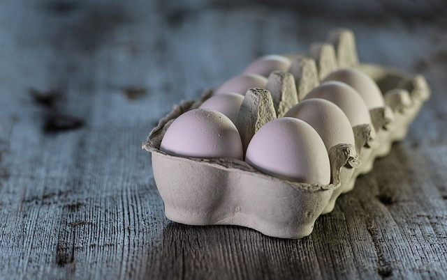 Eggs, Raw, Dairy, Closeup, Rustic, Traditional, Food