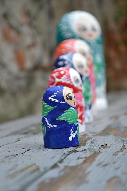 Matrioska, Toy, Russian, Souvenir, Traditional