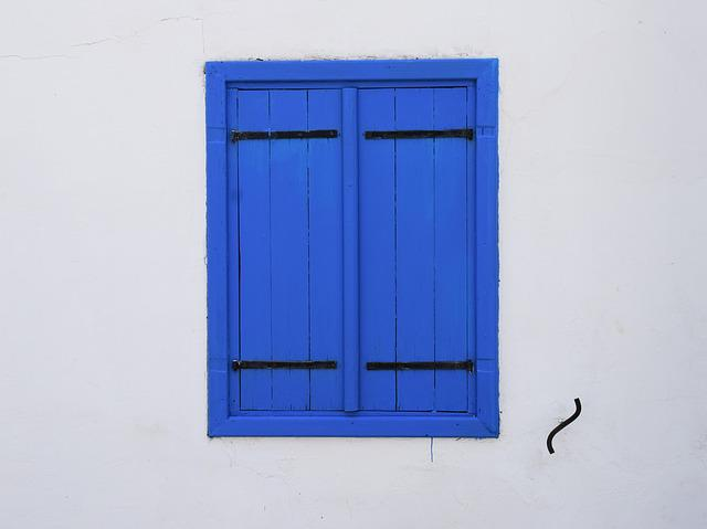 Window, Blue, Architecture, Traditional, Wooden