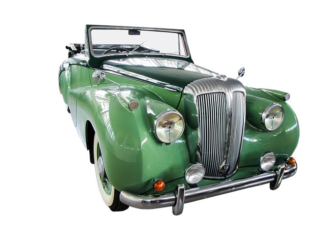 Traffic, Auto, Oldtimer, Daimler, Isolated, Cabriolet