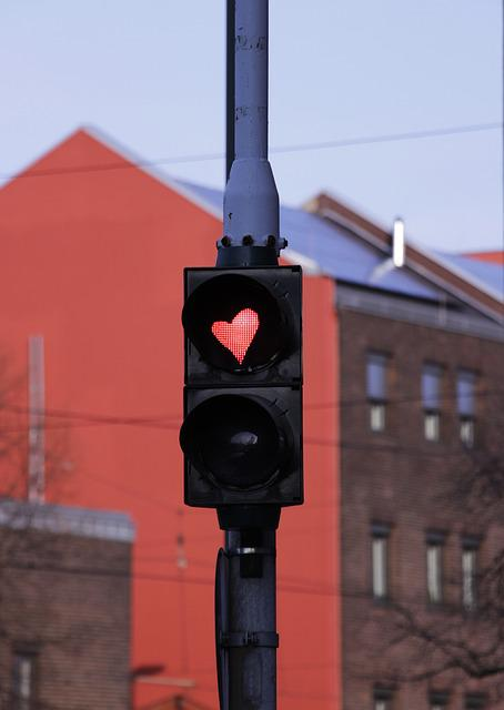 Traffic Lights, Heart Traffic Light