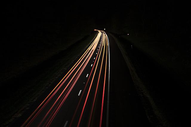 Street, Night, Cars, Cityscape, Lights, Road, Traffic