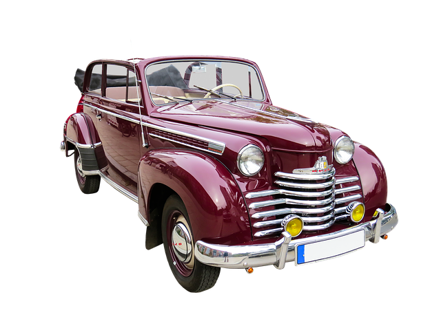 Traffic, Auto, Oldtimer, Opel, Png, Isolated, Old