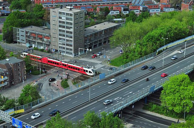 Traffic, Urban, Transportation, Public Transport, Train