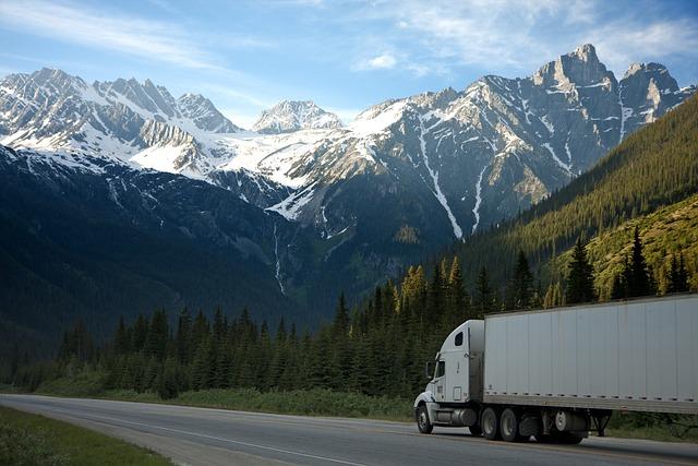Truck, Freight, Transportation, Trailer, Moving