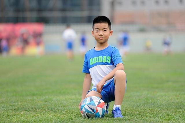 Football, Teenager, Greenery, Sports, Kids, Train, Ball