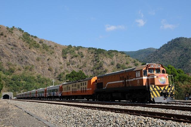 Train, Railroad, Tunnel, Diesel-electric Airport Car