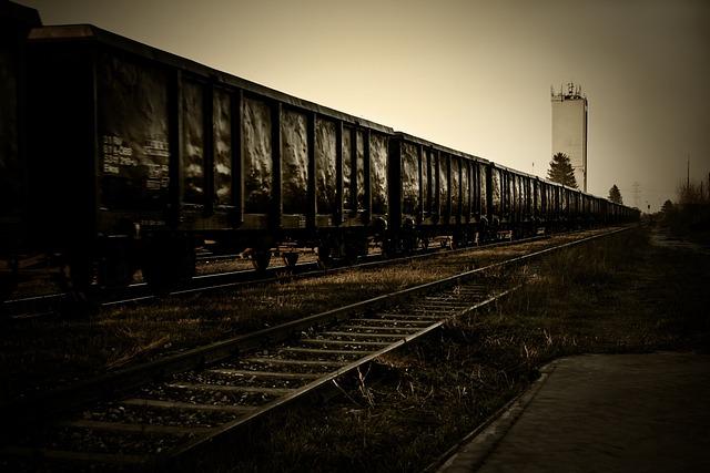 Freight Train, Train, Silo