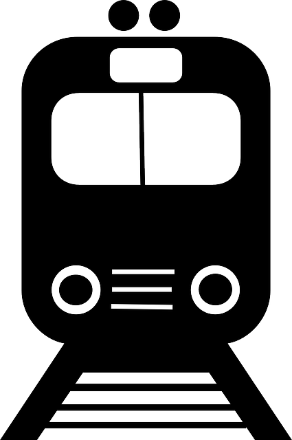 Train, Commuter, Silhouette, Frontal, Transport, Travel