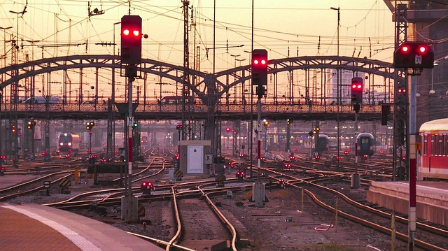 Transport System, Industry, Steel, Station, Train