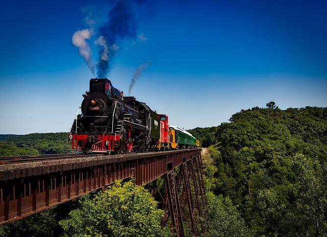 Train, Locomotive, Travel, Transportation, Railroad
