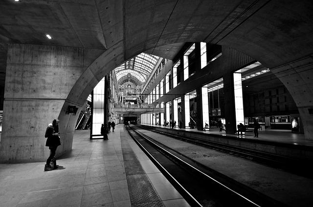 Metro, Transit, Railway, Train, Railroad, Travel