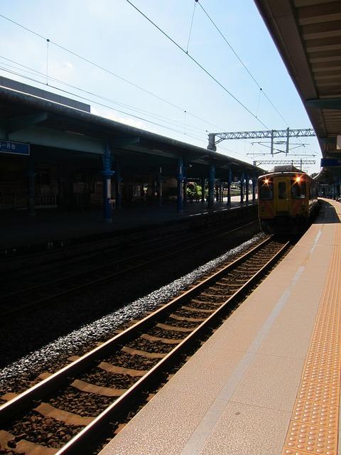 Train, Railroad, Platform