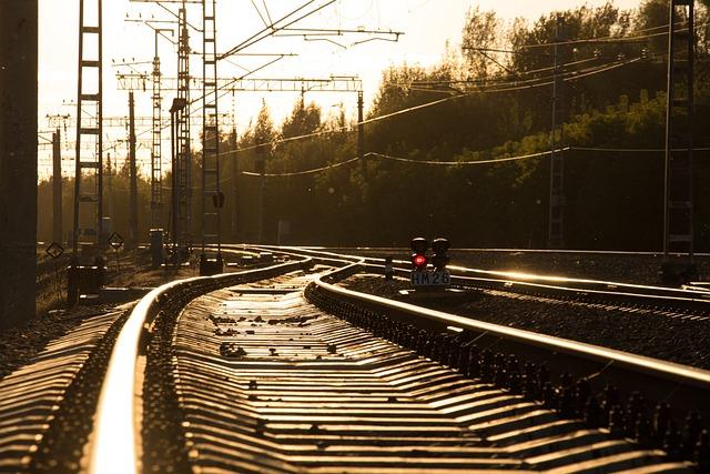 Railway, Ways, The Way, Rails, Sleepers, Road, Train