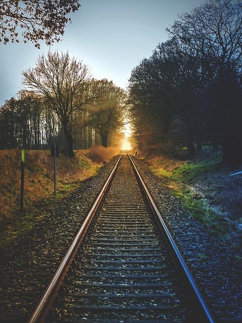 Railway Line, Railway, Train