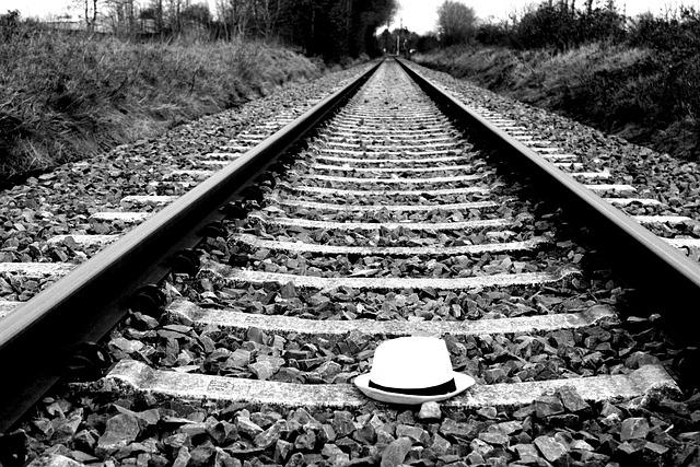 Railway, Railway Line, Train, Race Track