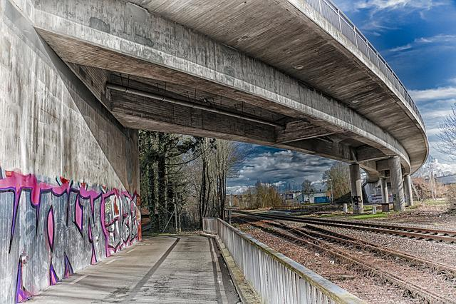 Transport System, Railway Line, Travel, Train, Hdr