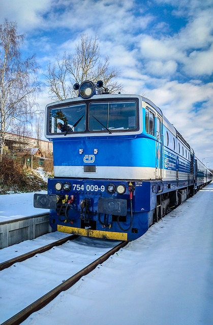 Train, Loco, Czech Republic, Railway, Locomotive