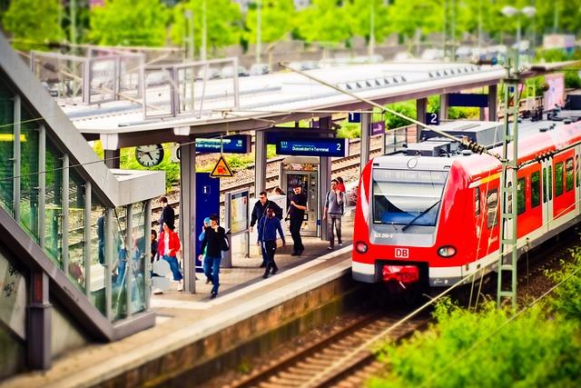 Railway Station, Train, Railway, Travel, Seemed