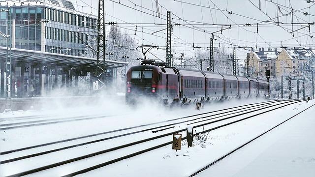 Transport System, Train, Station, Railway, Travel