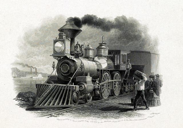 Steam Train, Train, Transport, Paddle Steamer