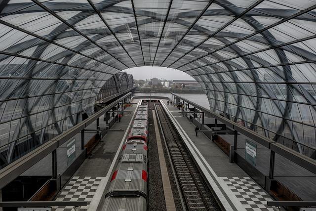 Train, Track, Stop, Glass