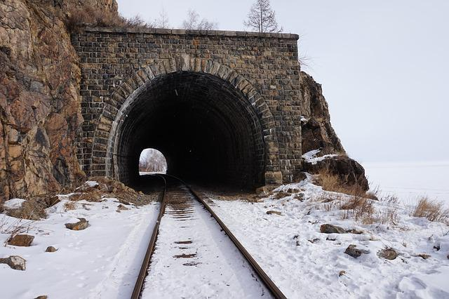 Russia, Train, The Train Path, The Railroad Line