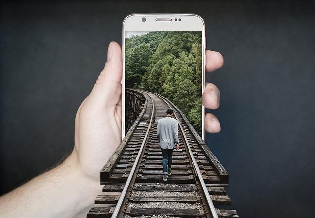Train Track, Railroad, Smartphone, Railway Track