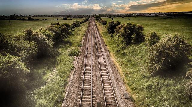 Train Track, Journey, Transport, Railroad, Railway