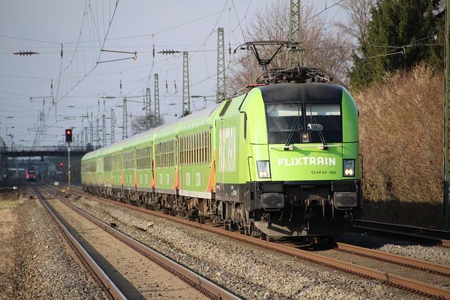 Train, Railway, Railway Line, Transport System, Motor