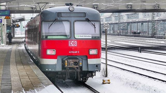 Train, Transport System, Railway, Station, Bahn, Munich