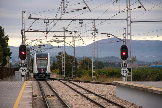 Train, Railway Line, To Train, Transport, Railway, Via