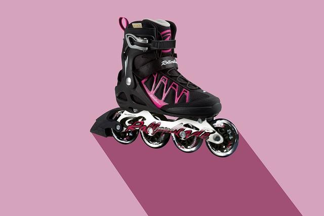 Inline Skate, Sport, Training, Shoe, Roll, Active