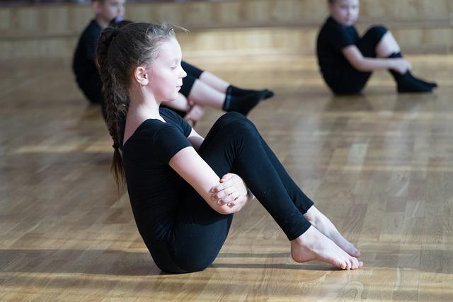 Kids, Gymnastics, Sports Dance, Training, Schoolboy