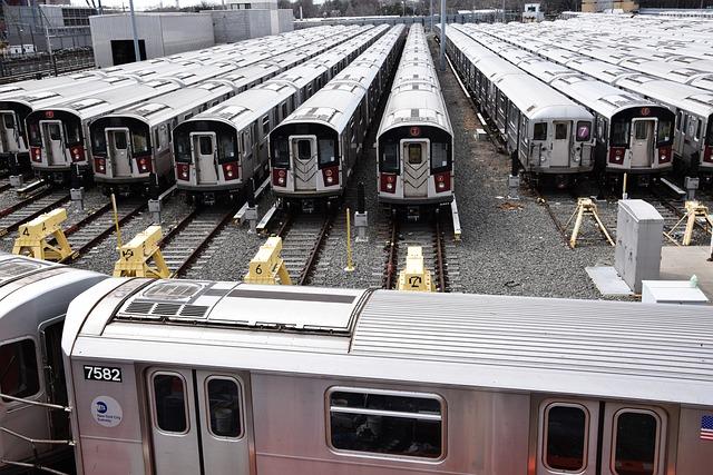 Transport System, Train, Trains, Railway, Station