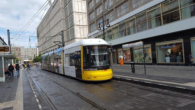 Tram, Berlin, Alexanderplatz