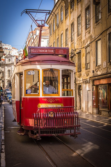 Tram, Portugal, Transport, Historic Center, Lisbon