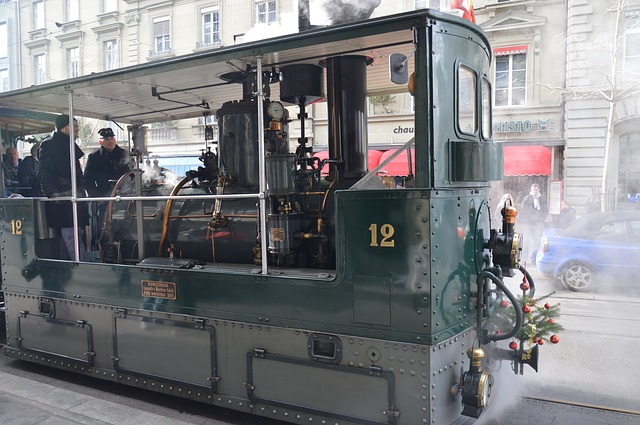 Tram, Steam Railway, Locomotive